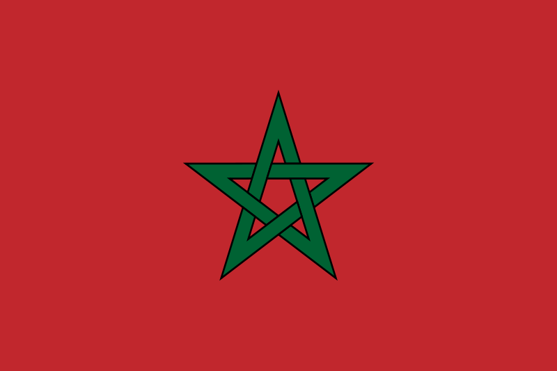 Bestand:Flag of Morocco.png
