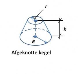 Mantel kegel formule